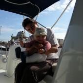 Pani kapitan z synkiem