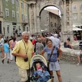 spacerujemy po starym mieście Pula