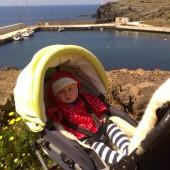 W Scauri (Pantelleria) - jesteśmy sami w porcie...