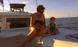Ania i Staś - płyniemy na Dominikę