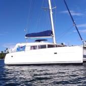 kat. s/y Four IV (Lagoon 400)