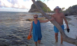 Ania i Jurek, White Island