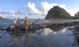 Ania na bezludnej White Island