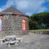 kościółek na Mayreau, stąd widok jest przepiękny!