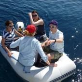 płyniemy na brzeg...