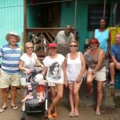 Z przyjaciółmi z Dominiki - Dori i Stevem