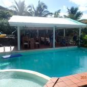 basen w restauracji u Denisa, Mayreau