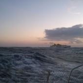 ...z Gomery na Teneryfę... to była super jazda z wiatrem i falą.. max. speed SOG 14 kn!