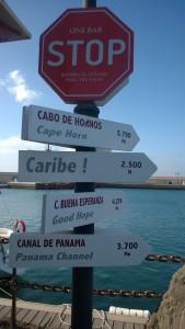 w pięknej Marinie Rubicon na Lanzarote