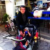 ...spotkanie z przyjacielem Tasos'em na Poros