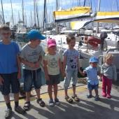 ..nasza młodzież... w wieku 1,5 roku - 11 lat, od prawej: Natka, Staś, Zosia, Agatka, Jaś, Paweł