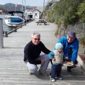 ...a potem ryby na grilla na kei i obiad gotowy ! (Korshamn)