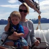 ...zgłaszamy się na wejście do fiordu :-)