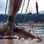 ...dopływamy do Nordheimsund