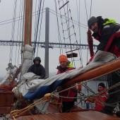 ...dopływamy powoli do Bergen, ostatni klar żagli