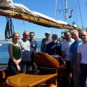 ...w Stavanger spotkaliśmy się z kpt. Ziemkiem Barańskim