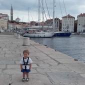 Staśko przedstawia Piran, przepiękny  port w Słowenii