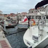 s/y Denar w pięknym słoweńskim porcie Piran