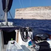 ..Z Malty ruszyliśmy do zachodnich klifów na Gozo..