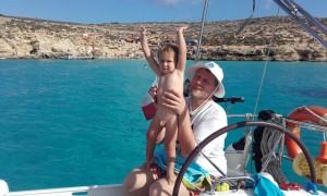 ...i listopadowa kąpiel w Blue Lagoon (Comino)