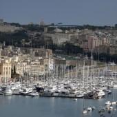 Widok na Grand Harbour Marina...