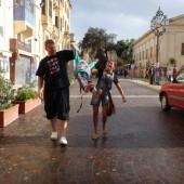 ...dzięki czemu zrobiliśmy sobie dzień zwiedzania Malty