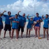Nasza ekipa: od lewej, : Agata, Marek, Darek, Karol, Gosia, Krisu, Stasiu, Darek