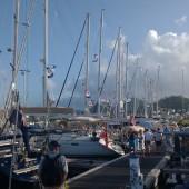 ...i na koniec obejrzeliśmy zakończenie regat ARC w Rodney Bay (St. Lucia)