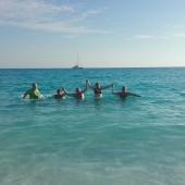 ...kąpiele w czyściutkiej wodzie były obowiązkowe :-)