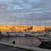 Nasza marina zaokrętowania - Msida (Malta)