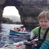 ... i obowiązkowa wizyta - Azure Window (Gozo)