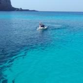 ... i ten niesamowity kolor wody...