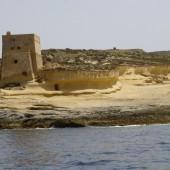 ..wpływamy do X-Lendi (Gozo)..