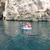 w końcu udało się rzucic kotwicę przy Blue Grotto (Malta)...