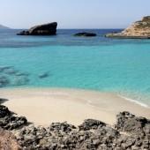 ...widoki przepiękne - Blue Lagoon (Comino)
