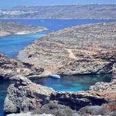 ...zatoczka z przepięknym kolorem wody...