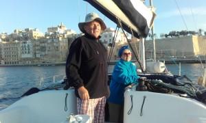 ...  byliśmy np. w Birgu na Malcie, przepływając obok wielkiej Grand Harbour Mariny...