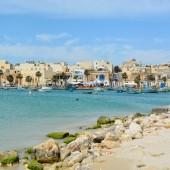 Marsaxlokk na Malcie - piękna wioska rybacka...