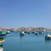 ... także w Marsaxlokk (Malta)