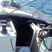 ..rodzicie zabrali mnie do Grecji na rejs morski..
