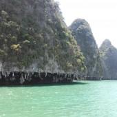 ... i w pierwszej kolejności zwiedzamy północ zatoki Phang Nga Bay