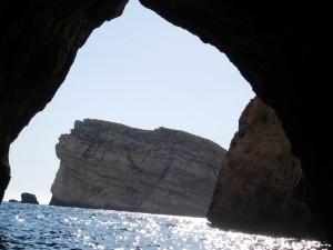 ...zwiedzaliśmy lokalne jaskinie...
