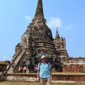 ..Zwiedzamy Ayutthaya - dawną stolicę Tajlandii