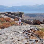 ..weszliśmy też na samą górę do fortu na wyspie Gramvousa