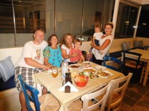 ... na Milos odwiedziliśmy  Lidkę i jej nowo otwartą restaurację Lydia Restaurant - rewelacja i wszystkim serdecznie ją polecamy! Pyszna kuchnia!!!