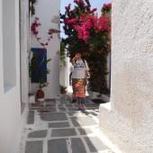 ...sporo spacerowaliśmy na greckich wyspach...