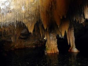 kolejny przystanek - Jaskinie Diros (Dirou)