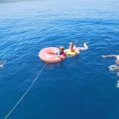 ... a kto się nie mieścił ... - za burtą był basen śródziemnomorski :-)