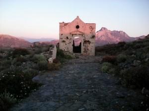pozostałości z fortu ba Gramvousa
