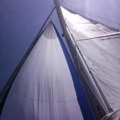 ... super żegluga z wiatrem i słońcem!